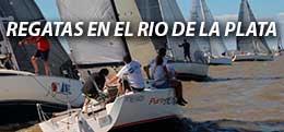 REGATAS EN EL RIO DE LA PLATA