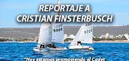 REPORTAJE A CRISTIAN FINSTERBUSCH