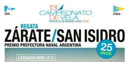 25 REGATA ZARATE SAN ISIDRO