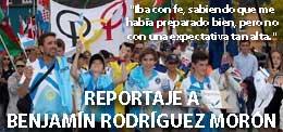 REPORTAJE A BENJAMIN RODRIGUEZ