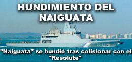 HUNDIMIENTO DEL NAIGUATA