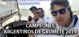 CAMPEONATO ARGENTINO DE GRUMETE