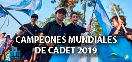 REPORTAJE A LOS CAMPEONES MUNDIALES DE CADET