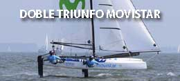 DOBLE TRIUNFO MOVISTAR