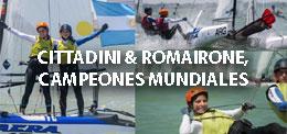CITTADINI ROMAIRONE CAMPEONES MUNDIALES